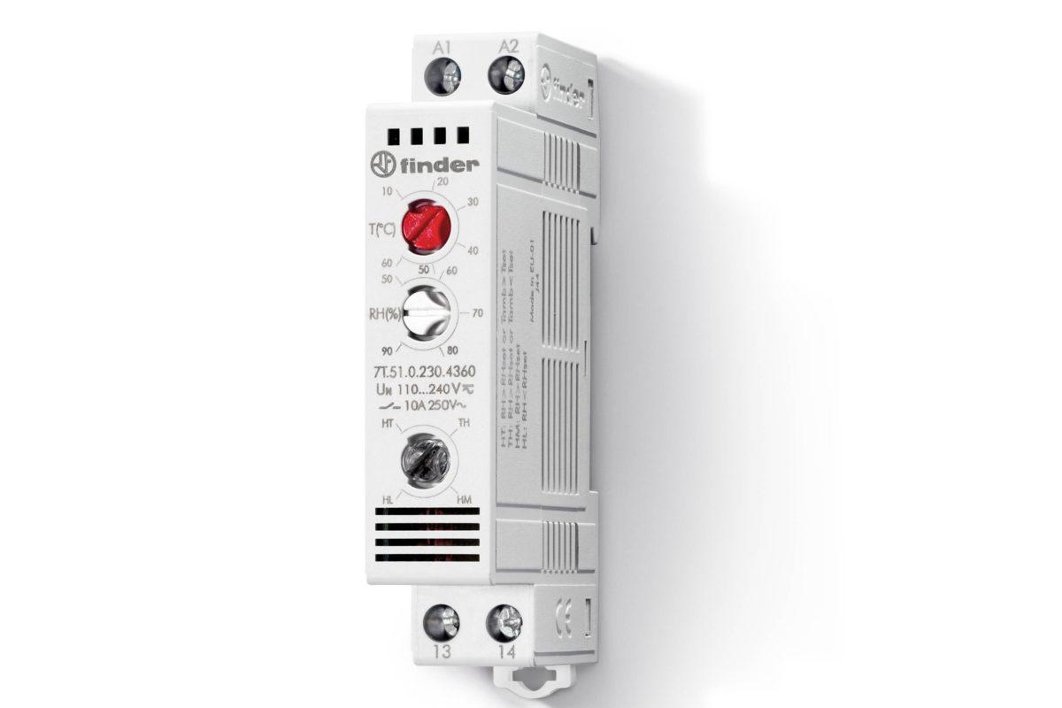 Eviter la condensation avec un hygro-thermostat d'armoire electrique