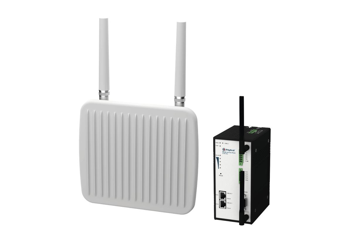 La connexion sans fil des appareils industriels vue par AnyBus