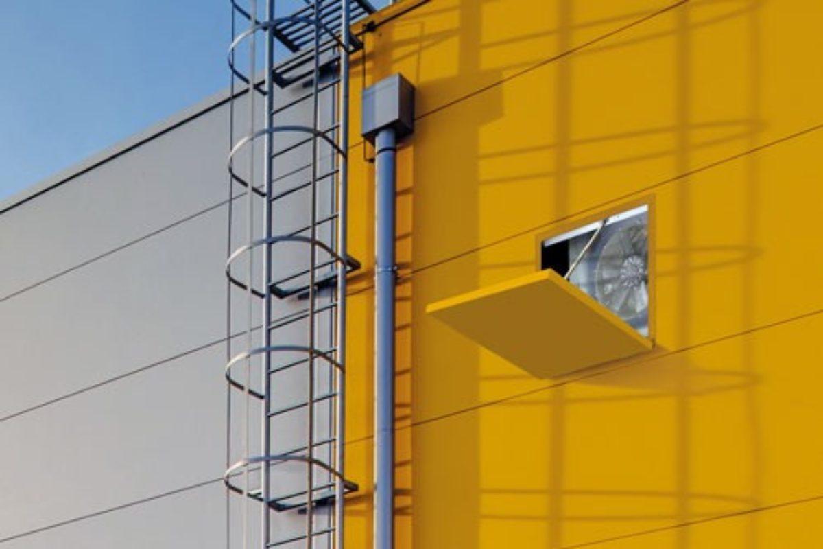 Systèmes de ventilation des bâtiments hermétiques, étanches, bien isolés et esthétiques