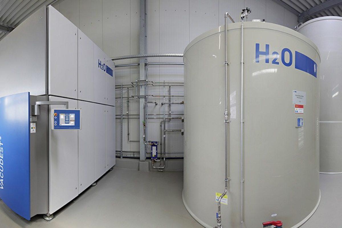 Un système de traitement des eaux usées industrielles aux résultats limpides