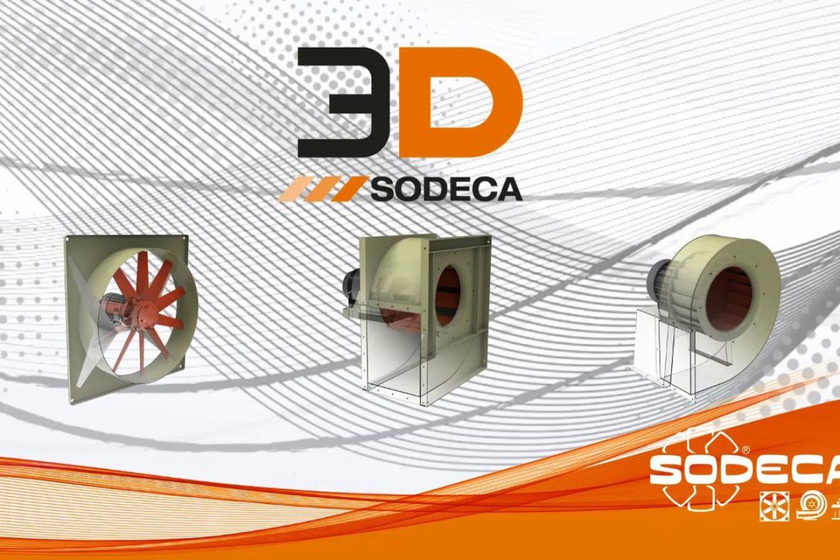 Ventilation industrielle: calculs, sélection, simulation 3D… les logiciels QuickFan Selector et 3D Cad