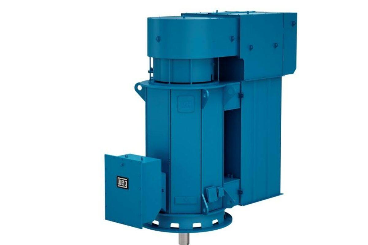 Un moteur vertical spécifique pour grosses pompes centrifuges ou à hélice