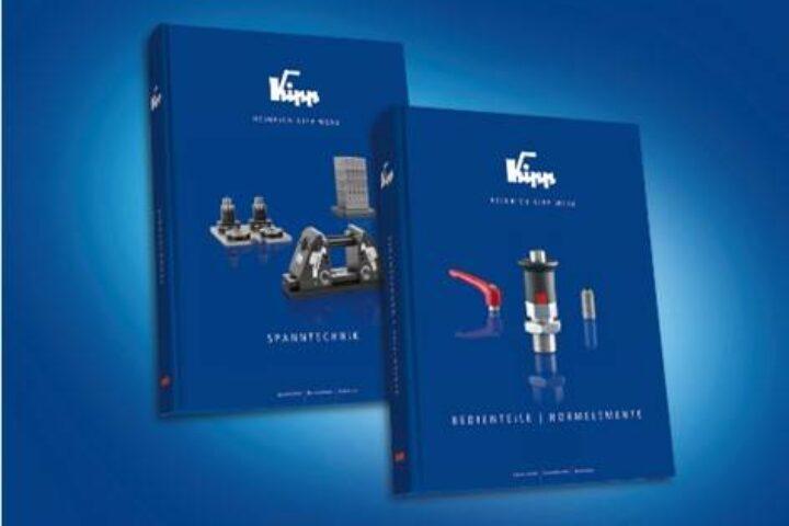 La nouvelle version des catalogues KIPP pour le serrage et les éléments normalisés est disponible!